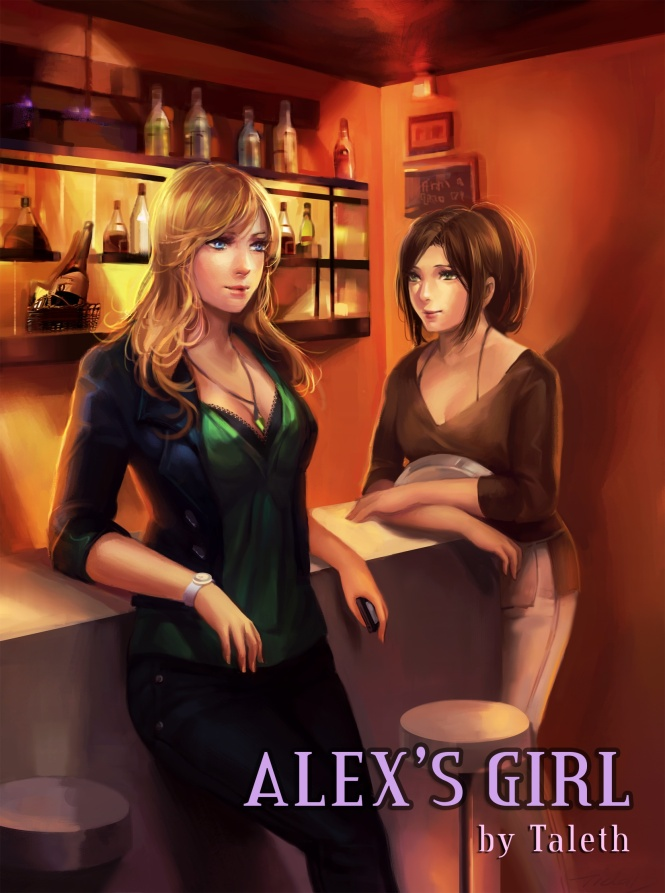 The Cover for Alex's Girl